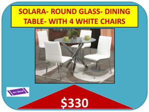 DINING TABLES, DINING CHAIRS Warehouse- Delivery $25 & up