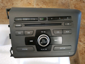 Like New 2012 Honda Civic Radio