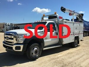 ***SOLD*** REDUCED PRICE ** 2015 Ford F-550 XL Service body