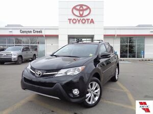 2014 Toyota Rav4 LIMITED AWD ONE OWNER DEALER MAINTAINED