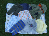 one price for lot of assorted 12 mth great shape clothes