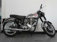 BSA GOLD STAR CB32 ENGINE AND FRAME NUMBER TOURING FROM FACTORY RESTORED