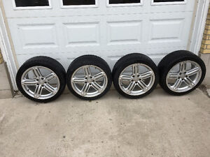 Audi a4 s4 tires and rims