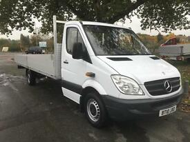Mercedes Sprinter 313 3.5T XLWB Extra Long (6.1m) 20ft Load Length Dropside
