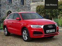 2017 Audi Q3 1.4 TFSI CoD S line Edition (s/s) 5dr Manual SUV Petrol Manual