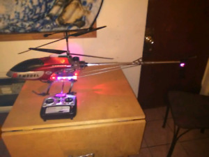 RC helicopter trade