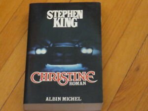 STEPHEN KING/ CHRISTINE / LITTÉRATURE