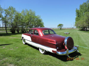 3x2 Flathead powered 1950 Ford coupe