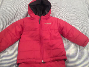 Columbia snow suit 3T