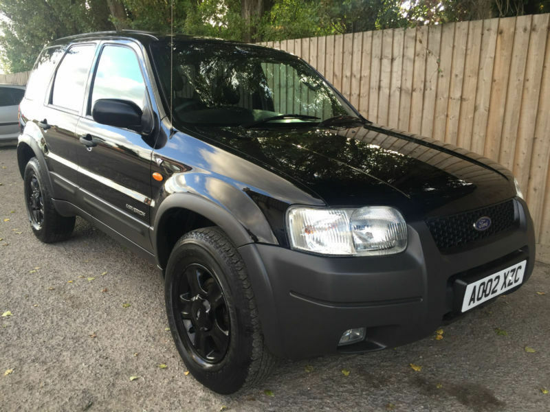 2002 02 ford maverick xlt 3 0 v6 auto 4x4 low miles 55k 30 4 mpg 195 bhp p x in hinckley. Black Bedroom Furniture Sets. Home Design Ideas