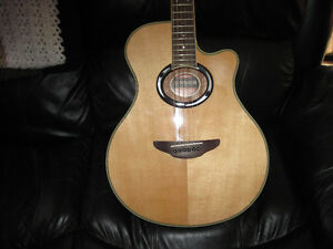 YAMAHA APX500III ACOUSTIC  ELECTRIC..ALMOST NEW