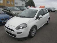 2013 Fiat Punto Hatch 5Dr 1.2 8V 69 EU5 Easy Brio Petrol white Manual