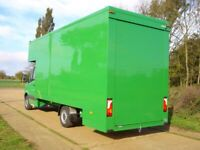 MAN AND VAN LARGE LUTONVAN WITH TAILLIFT AVAILABLE SHORT NOTICE LOCAL AND LONG DISTANCE 24/7 CALL