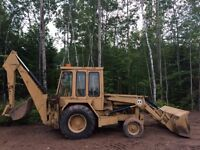 1973 International Harvester 3500A Backhoe