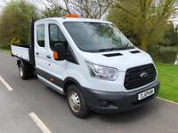 2015 FORD TRANSIT 2.2TDCi 125PS 350 L3H1 D/C TIPPER