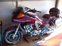 Parting out 1984 Yamaha 'Venture Royale motorcycle