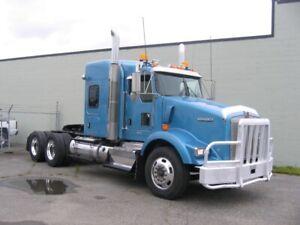 2012 Kenworth T800 highway tactor