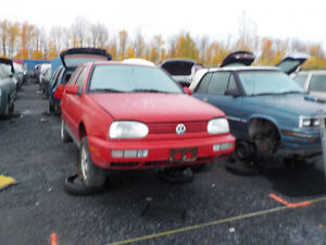 1999 Volkswagen Golf Now Available At Kenny U-Pull Cornwall Cornwall Ontario image 1