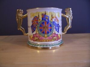 Loving Cup to commemorate coronation of HM King Edward V111