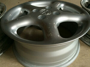 3 Original VW rims 4x100 14 inch