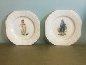 Lord Nelson cake plates