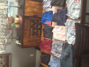 Clothes in good condition