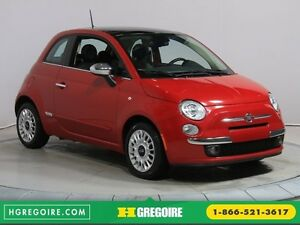 2014 Fiat 500 LOUNGE CUIR TOIT OUVRANT MAGS