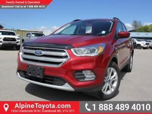 2017 Ford Escape SE  Nav - Heated Seats - Low Kms