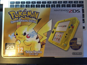 Nintendo 2ds 20th anniversary yellow edition European only