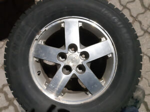 Used snow tires