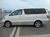 Toyota Alphard 4x4 7 seater People Carrier