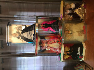 Collector Barbie's Holiday and other