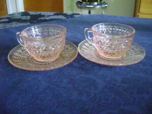 Two antique teacups