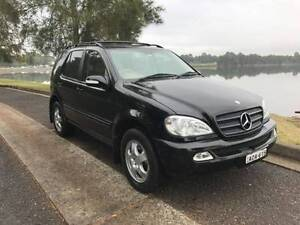 7 SEATS! 27 MARCH 2018 REGO! 4x4! 2003 Mercedes-Benz ML Wagon Five Dock Canada Bay Area Preview