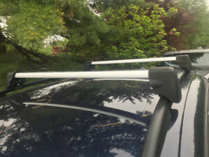 Volkswagon Roof Rack Cross Bars for factory rails