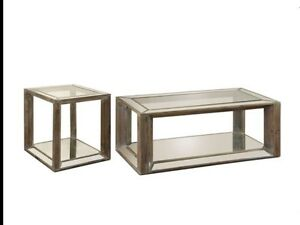 Coffee Table and End Table set.  (Still in box)