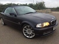 BMW 330 automatic petrol convertible new mot