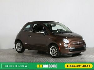 2013 Fiat 500c LOUNGE CONVERTIBLE BLUETOOTH MAGS