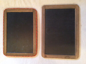 Small Wooden Framed Chalkboards from One Room Schoolhouse