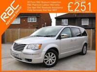 2008 Chrysler Grand Voyager 2.8 CRD Turbo Diesel Limited Ltd 6 Speed Auto 7-Seat