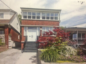 Beautiful Bright 2 bedroom 2 level Apartment in Detached Home