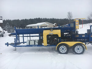 USED 2015 DYNA SC-16 Firewood Processor with low hours