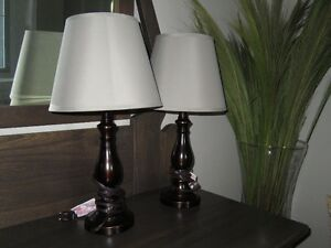 Bronze colored Lamps