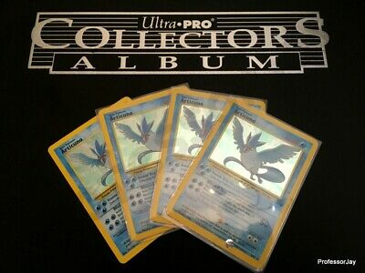 Pokemon Cards 1st Gen - FOSSIL SET - Articuno 2/62 & 17/62 HOLOS / RARES TCG