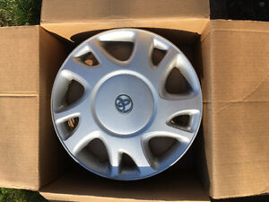 "Used Toyota 15"" Hubcaps from Corolla"
