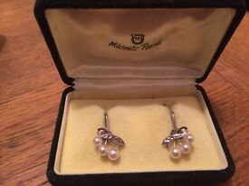 Mikimoto pearls vintage cheap for quick sale