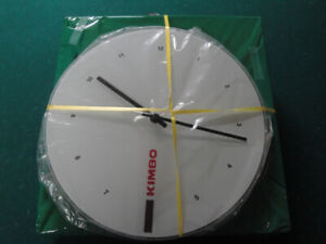 WALL CLOCK, BRAND NEW WITH BOX, BATTERY OPERATED!