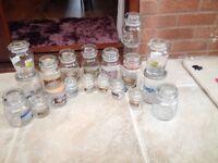Job lot of empty yankee candle jars