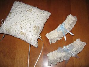 Wedding Garters & Ring Pillows