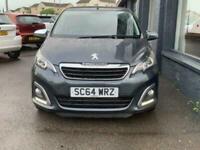 2014 Peugeot 108 1.2 ALLURE TOP 5d 82 BHP Hatchback Petrol Manual